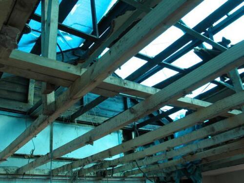 163004 Tea-Room-Roof-damage2005