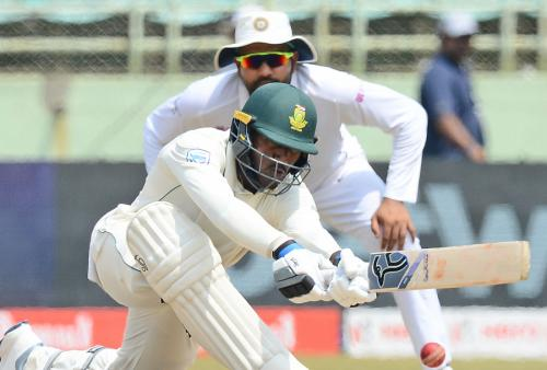 1st Test: India v South Africa, Day 5